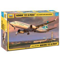 Zvezda Boeing 737-8 MAX repülőgép makett 7026
