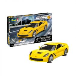 Revell Easy-Click 2014 Corvette Stingray autó makett (1:25) 7449