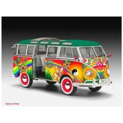 Revell VW T1 Samba Bus Flower Power 1:24 autó makett 7050