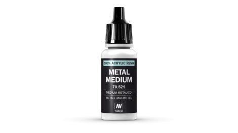 191 Metal Medium akrill festék Vallejo 70521