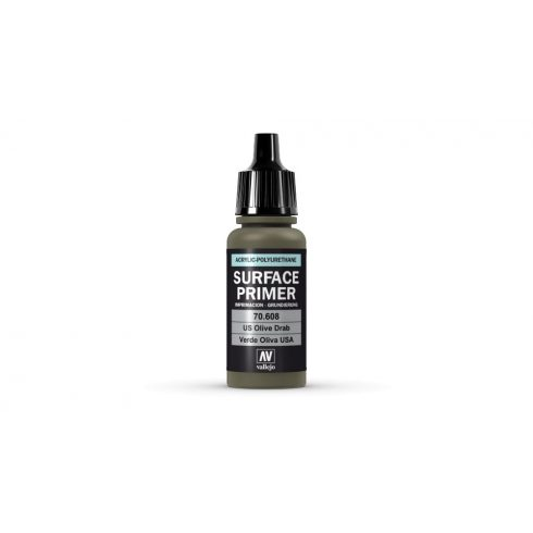 Vallejo U.S. Olive Drab Surface Primer alapozó festék 70608