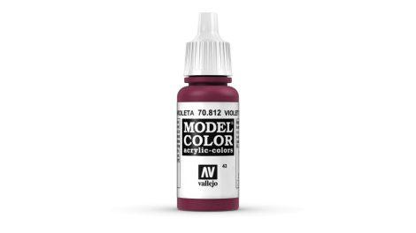 43 Violet Red akrill festék Vallejo 70812