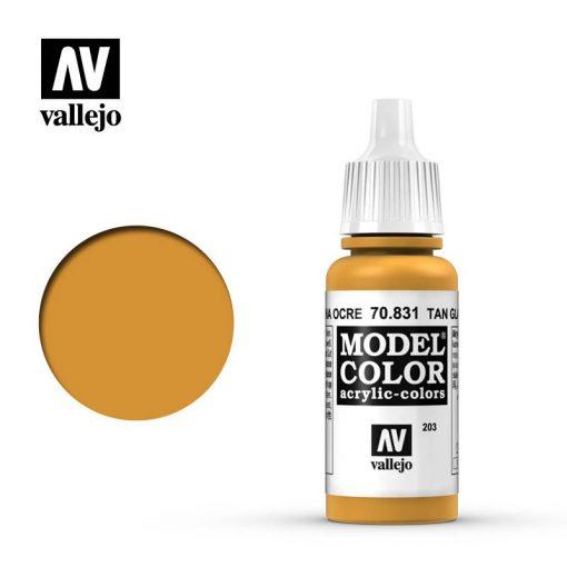 Vallejo Model Color 203 Tan Glaze akril festék  70831