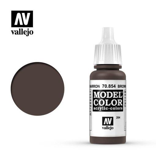 Vallejo Model Color 204 Brown Glaze akril festék  70854
