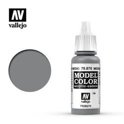 Vallejo Model Color 158 Medium Sea Grey akrill festék  70870