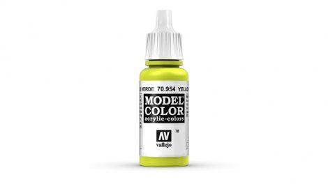 78 Yellow Green akrill festék Vallejo 70954