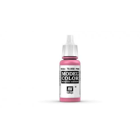 Vallejo Model Color 40 Pink akrill festék  70958