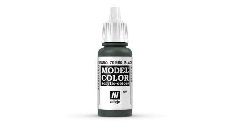 100 Black Green akrill festék Vallejo 70980
