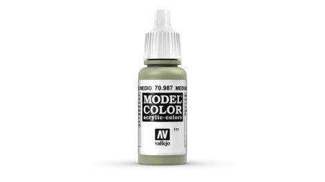 111 Medium Grey akrill festék Vallejo 70987