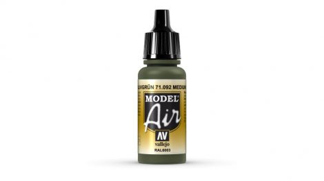 92 Medium Olive akril festék Vallejo 71092