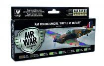 "RAF Colors Special ""Battle of Britain"" festék szett Vallejo 71144"