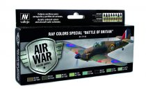 "RAF Colors Special ""Battle of Britain"" festék szett Vallejo 71144"