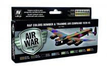 RAF Colors Bomber & Training Air Command 1939-1945 festékesz szett Vallejo 71145