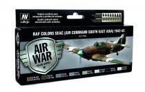 RAF Colors SEAC (Air Command South East Asia) 1942-1945 festékesz szett Vallejo 71146