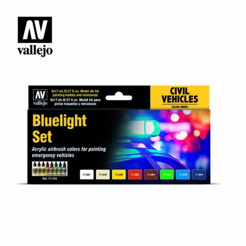 Vallejo Bluelight festék szett 71154