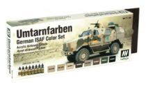 Vallejo Umtarnfarben German ISAF Color set 71159
