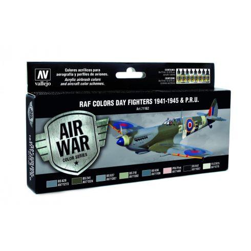 Vallejo RAF Colors Dary Fighters 1941-1948 & PRU festék szett 71162