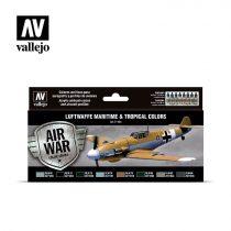 Luftwaffe Maritime and Tropical Colors festék szett Vallejo 71164