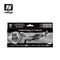 Luftwaffe Colors 1941 to end-war festék szett Vallejo 71166