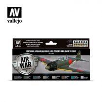 Imperial Japanese Navy Pre-War to 1945 festék szett Vallejo 71169