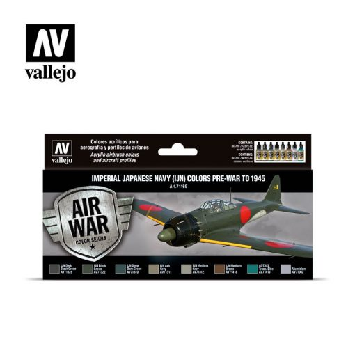 Vallejo Imperial Japanese Navy Pre-War to 1945 festék szett 71169