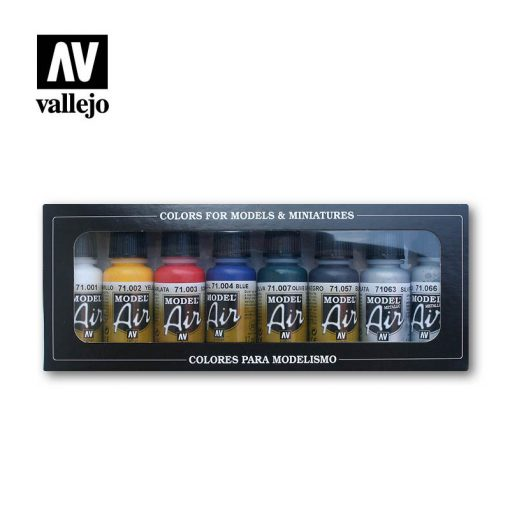 Vallejo Model Air Basic Set 71174