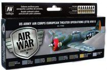 US Army Air Corps European Theater Op festék szett Vallejo 71182