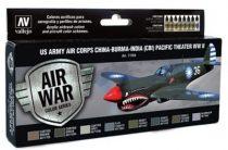 US Army Air Corps China-Burma-India Pacific festék szett Vallejo 71184