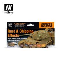 Rust & Chipping Effects festék szett Vallejo 71186