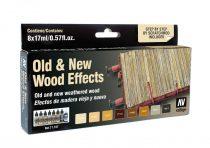 Old and New Wood Effects festék szett Vallejo 71187
