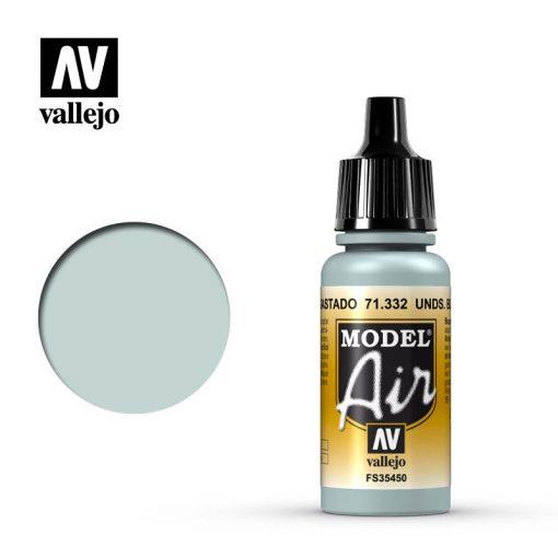 """Vallejo Model Air Underside Blue """"Faded"""" akril festék 71332"""