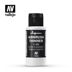 Vallejo Airbrush Thinner 60 ml hígító airbrush akril festék hígításához 71361