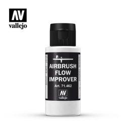 Airbrush Flow Improver 60ml folyósító és száradás lassító akril festék airbrusholásához vallejo 71462