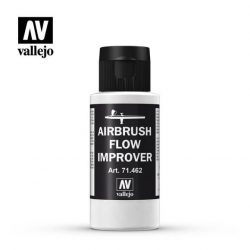 Vallejo Airbrush Flow Improver 60 ml folyósító és száradás lassító akril festékhez 71462