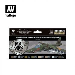 Vallejo Model Air Paint Set - Soviet Tactical Schemes 1978-1989 (Part II) - 71608