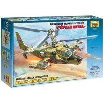 Russian Attack Helicopter Hokum makett Zvezda 7216
