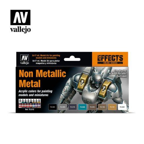 Vallejo Non Metallic Metal festék szett 72212