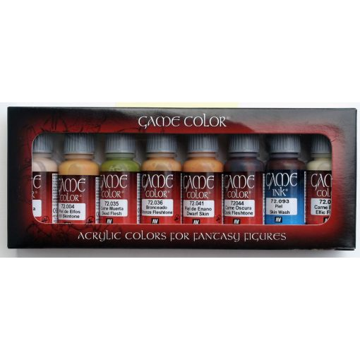 Vallejo Game Color Skintone set 72295