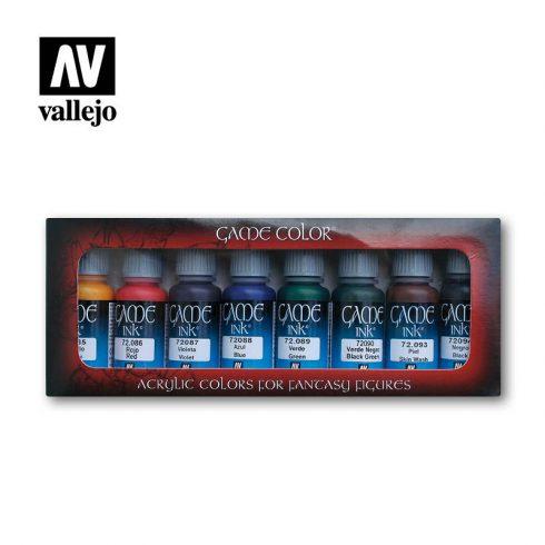 Vallejo Game  Color Ink set 72296