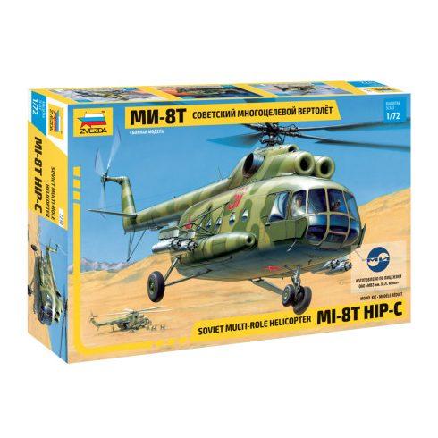 Zvezda MIL Mi-8T helikopter makett 7230