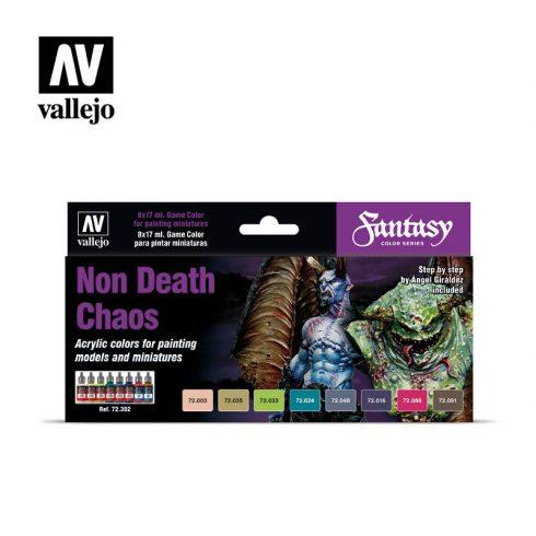 Vallejo Non Death Chaos festék szett 72302