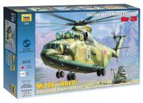 MIL MI-26 helikopter makett Zvezda 7270