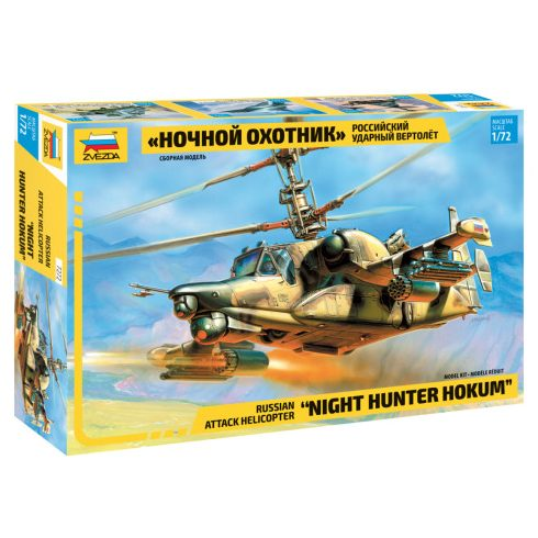 "Zvezda SH ""Night Hunter"" helikopter makett 7272"