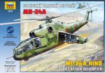 Mil Mi-24A Hind helikopter makett Zvezda 7273