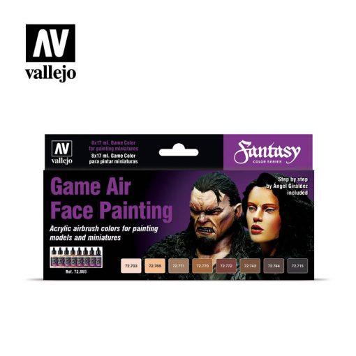 Vallejo Face Painting festékes szett 72865