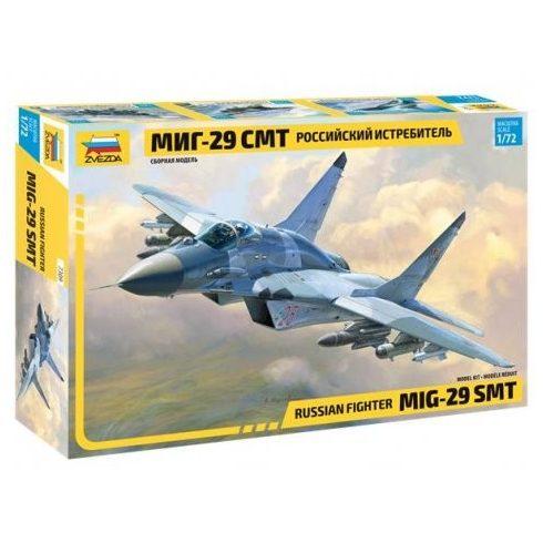 Zvezda Russian fighter MiG-29 SMT repülőgép makett 7309