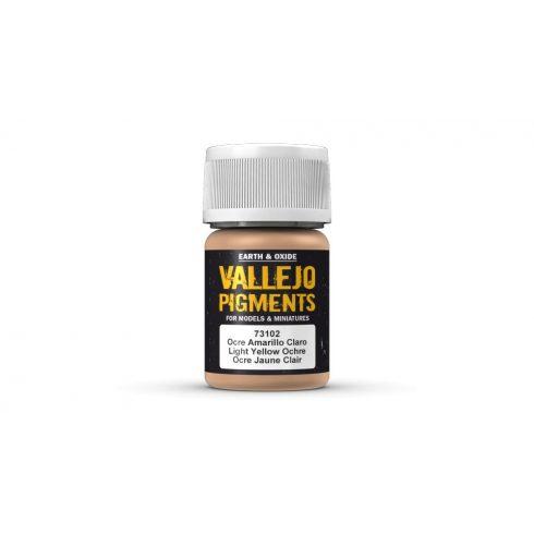 Vallejo 73102 Light Yellow Ocher Pigment