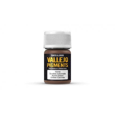 Vallejo 73110 Burnt Umber Pigment