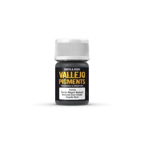 Vallejo 73115 Natural Iron Oxide Pigment