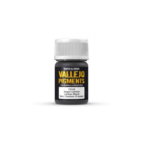 Vallejo 73116 Carbon Black Pigment